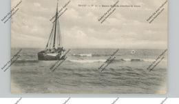B 8300 KNOKKE - HEIST, Fischerboot, 1916, Deutsche Feldpost, Bäckereikolonne - Knokke
