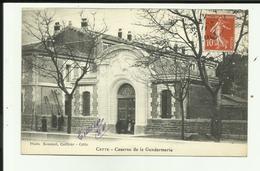 34 - Hérault - Sète - Caserne De La Gendarmerie - Animée - - Sete (Cette)