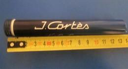 Vintage-J. CORTES High Class Cigars Havana CUBA Tabac Cigare-Accessoires Étuis à Cigares-Tobacco-Cigar-Accessory - Contenitore Di Sigari