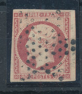 FRANCE - 1853/60, Napoleon III, Yt 17, 80c, Oblitére - 1853-1860 Napoléon III