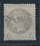 FRANCE - 1863/70, Napoleon III With Laurels, Yt 27, 4c, Oblitére - 1863-1870 Napoléon III Lauré