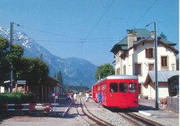 Chamonix (74) Ligne Du Montenvers - Gare Inferieure - Chamonix-Mont-Blanc