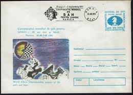Schach Chess Ajedrez - Rumänien Romania - Mamaia 1991 - Chess