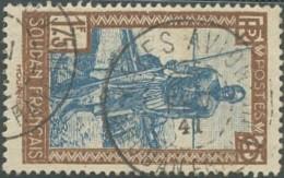 Soudan Français 1920-1944 - Kayes Avion Sur N° 82 (YT) N° 87 (AM). Oblitération De 1941. - Oblitérés