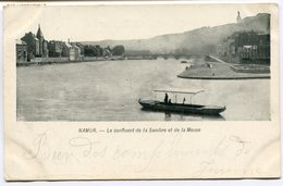 CPA - Carte Postale - Belgique - Namur - Le Confluent De La Sambre Et De La Meuse - 1903 ( MF11289) - Namur