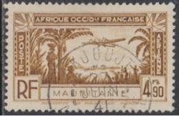 Mauritanie 1913-1944 - Akjoujt Sur Poste Aérienne N° 4 (YT) N° 4 (AM). Oblitération De 1941. - Oblitérés