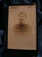 Photo CDV Marius Au Mans - Portrait Militaire Du 31e D'artillerie, Vers 1890 L485 - Fotos