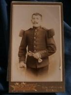 Photo CDV Scherr à Epinal - Militaire Soldat Du 149e D'infanterie, Vers 1900 L485 - Fotos