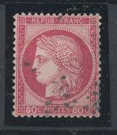 FRANCE - 1871/75, Ceres, Yt 57, 80c, Oblitére - 1871-1875 Cérès
