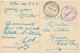 CV Caserne Thun – Militarschulen 7.VII.21 - Militaire Post