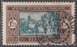 Sénégal 1912-1944 - Dakar-Avion Sur N° 108A (YT) N° 118 (AM). Oblitération De 1936. - Usati