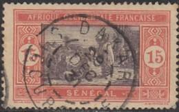 Sénégal 1912-1944 - Dakar / Succursale Sur N° 58 (YT) N° 71 (AM). Oblitération. - Usati
