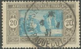 Sénégal 1912-1944 - Marseille St Charles / Paquebot Sur N° 102 (YT) N° 105 (AM). Oblitération. - Oblitérés