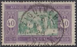 Sénégal 1912-1944 - Ziguinchor Sur N° 63 (YT) N° 63 (AM). Oblitération De 1928. - Oblitérés
