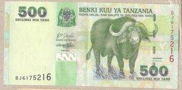 Tanzania - Banconota Non Circolata Da 500 Scellini P-35a - 2003#18 - Tanzania