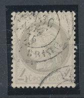 FRANCE - 1871/75, Ceres, Yt 52, 4c, Oblitére - 1871-1875 Cérès