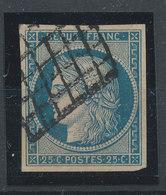 FRANCE - 1870, Bordeaux Printing, Ceres, Yt 45, 25c, Oblitére - 1870 Emission De Bordeaux