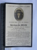 Image Religieuse - Décès Marie Jeanne Alice METAYER Le 23 Mai 1914 - Imágenes Religiosas