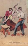 DENTISTE DE  CHOC ,,,, PROPOS  MORVANDIAUX  ,,,,SIGNEE JARRY ,,,, 1940  ,,,,TBE - Gesundheit