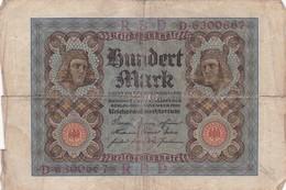 1920 - Allemagne - Germany - Weimar Republic - 100 HUNDERT MARK, Berlin Den 1 November 1920 - [ 3] 1918-1933 : República De Weimar