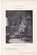 L'ARRACHEUR DE  DENTS ,,,,  TABLEAU DE GERARD  DOW ,,,,PUB  AGENDA  GONNON ,,,TBE - Malerei & Gemälde