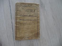 Livret Militaire Classe 1870 Infanterie - Documenten