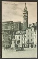 Pirano - Piazza Tartini - Slowenien