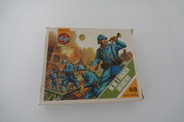 Airfix WW1 FRENCH INFANTRY , Scale HO/OO, Vintage, 45PC - Figurines