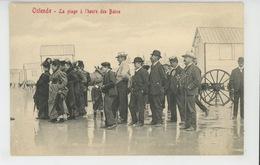 BELGIQUE - OSTENDE - OOSTENDE - La Plage à L'heure Des Bains - Oostende