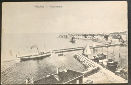 Pirano - Panorama (1907) - Slowenien