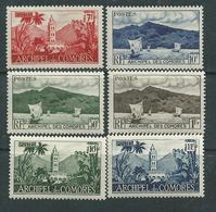 Comores N° 1 / 11   X   Sites, La Série Des 11 Valeurs Trace De Charnière Sinon TB - Unused Stamps