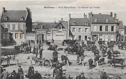 80 DOULLENS  - Place Notre Dame - Le Marché Aux Vaches - Doullens