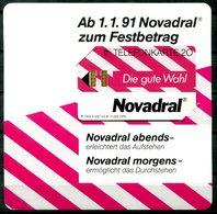 5611 - DEUTSCHLAND - Ungebrauchte Telefonkarte K257, 03.91 (Medizin, Novadral) - Werbung