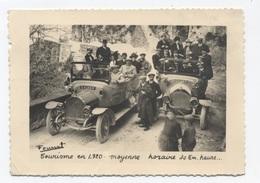38 - Tourisme En 1920 - Moyenne Horaire 30 Km Heure - Véhicule SAURER -RECTO /VERSO B88 - Frankrijk