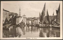 Pirano Il Porto - Slowenien