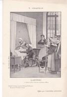 LAENNEC ,,,, Par T . CHARTRAN ,,,OFFERT PAR L' AGENDA  GONNON, - Malerei & Gemälde