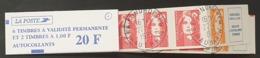 Carnet Ouvert  N° 1507 Avec Cachet à Date De 1996  TTB - Booklets