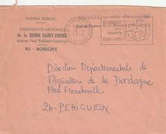 "Env. De ""Bobigny Robespierre - 93, Seine-St-Denis"" Du 16-09-1970 ""Ville Nouvelle 1920-1970"" (Franchise) - Mechanical Postmarks (Advertisement)"