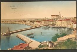 Pirano (1910) Panorama - Slowenien