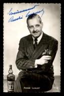 AUTOGRAPHE - ANDRE LUGUET, ACTEUR FRANCAIS (1892-1979) - Dédicacées