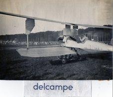 Photo Authentique - Semaine Aviation à ROUEN  - 1910  -  Biplan  Breguet - Aviation