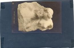 GERMANY BERLIN DER TRAUM V PROF G EBERLEIN PPC DECENT COUPLE MARBLE SCULPTURE - Germany