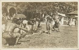 Real Photo Native Sivi Siva Dance Samoa Tutuila  Nude Athletic Men - Samoa