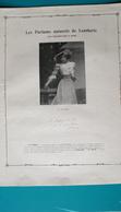 Ancienne Pub Parfums Lenthéric,Mlle Polaire, Photo Manuel - Publicités