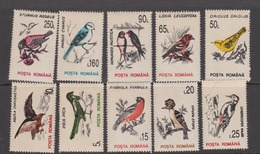 Romania Scott 3812-21 1993 Birds, Mint Never Hinged - Birds