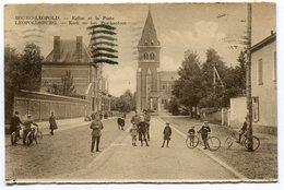 CPA - Carte Postale - Belgique - Bourg Léopold - Eglise Et La Poste - 1934 ( MF11291) - Leopoldsburg