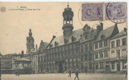 Bergen - Mons - La Grand'Place, L'Hôtel De Ville - Albert No 7 - 1922 - Mons