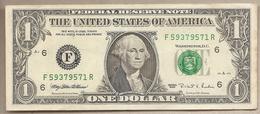 USA - Banconota Circolata Da 1 Dollaro Atlanta - Georgia P-496aF - 1995 #18 - Bilglietti Della Riserva Federale (1928-...)
