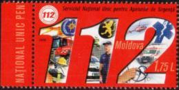"""Moldova 2019 """"National Service For Emergency Calls - 112"""" 1v Quality:100% - Moldavie"""