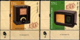 "Moldova 2019 ""13th February Is International Radio Day.""From The History Of Radio Of The 30s And 40s"" 2v Quality:100% - Moldavia"